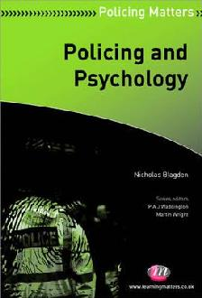 Policing and Psychology